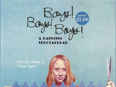 Boys Boys Boys, Solo Exhibition,Galleri 21-24, 2003